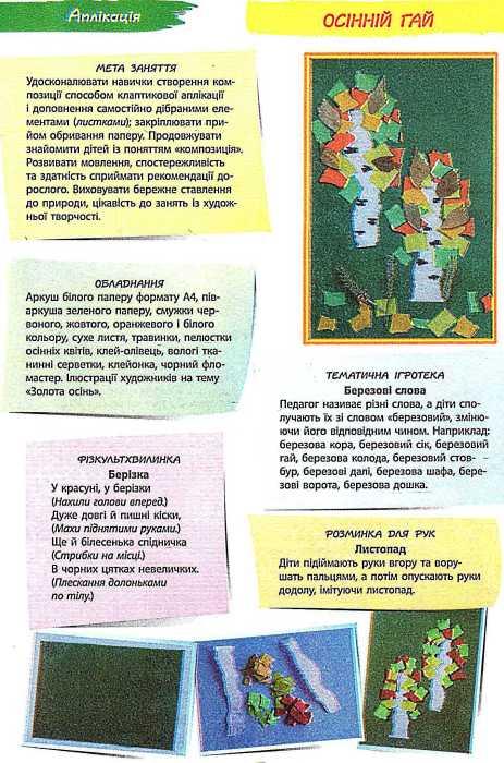 Альбом з аплікації, ліплення 5 рік життя 1 частина (Д133002У Н. В. Яковлева. Ранок)