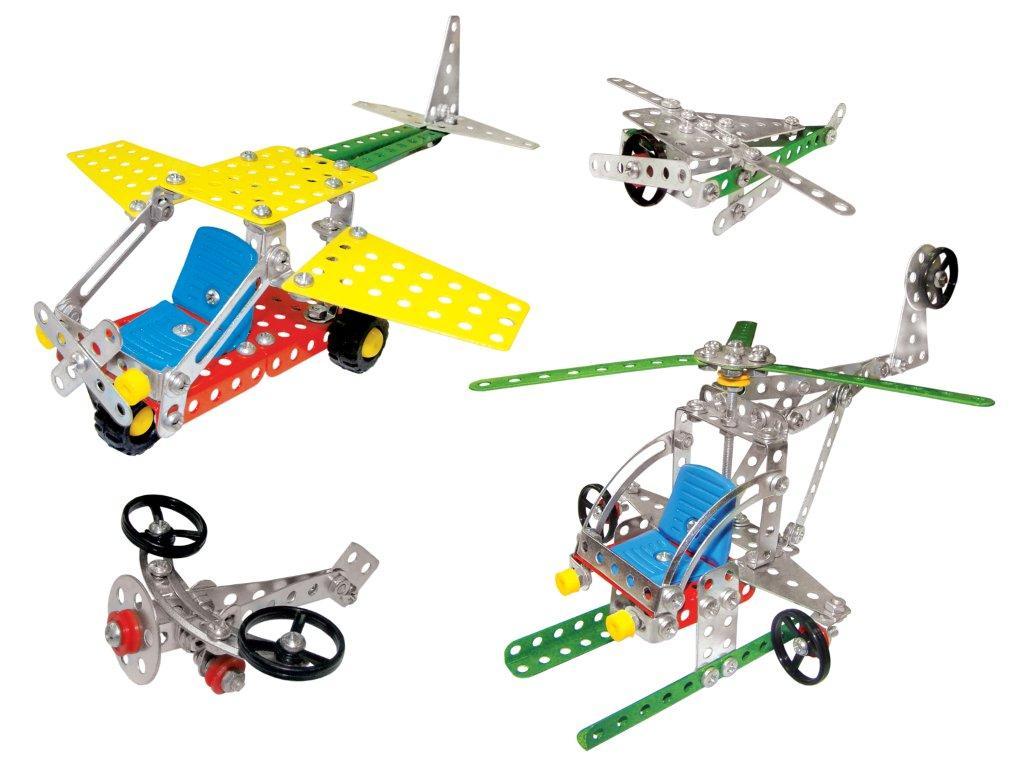 Железный конструктор технок Воздушный транспорт