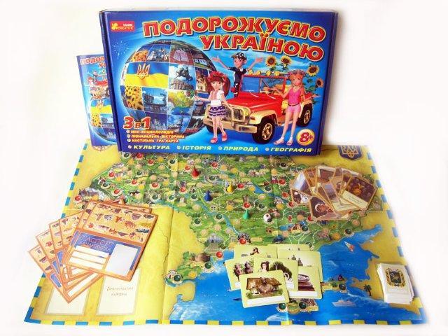Подорожуємо Україною - Настольная игра , 12120011У, Ranok-creative