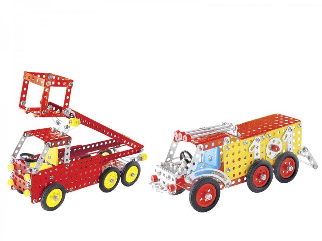 Железный конструктор Пожарная техника, Технок, 2056, 212 деталей
