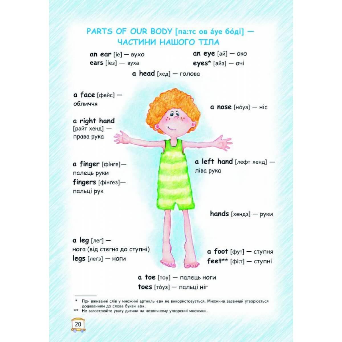 Книга посібник з англійської мови для дітей
