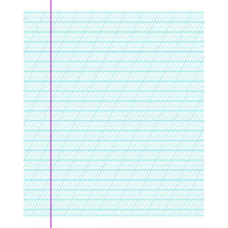 Каліграфічний зошит-шаблон