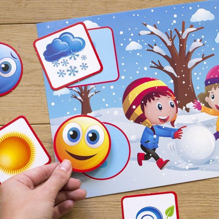 Дидактичні ігри для навчання дошкільнят Природні явища
