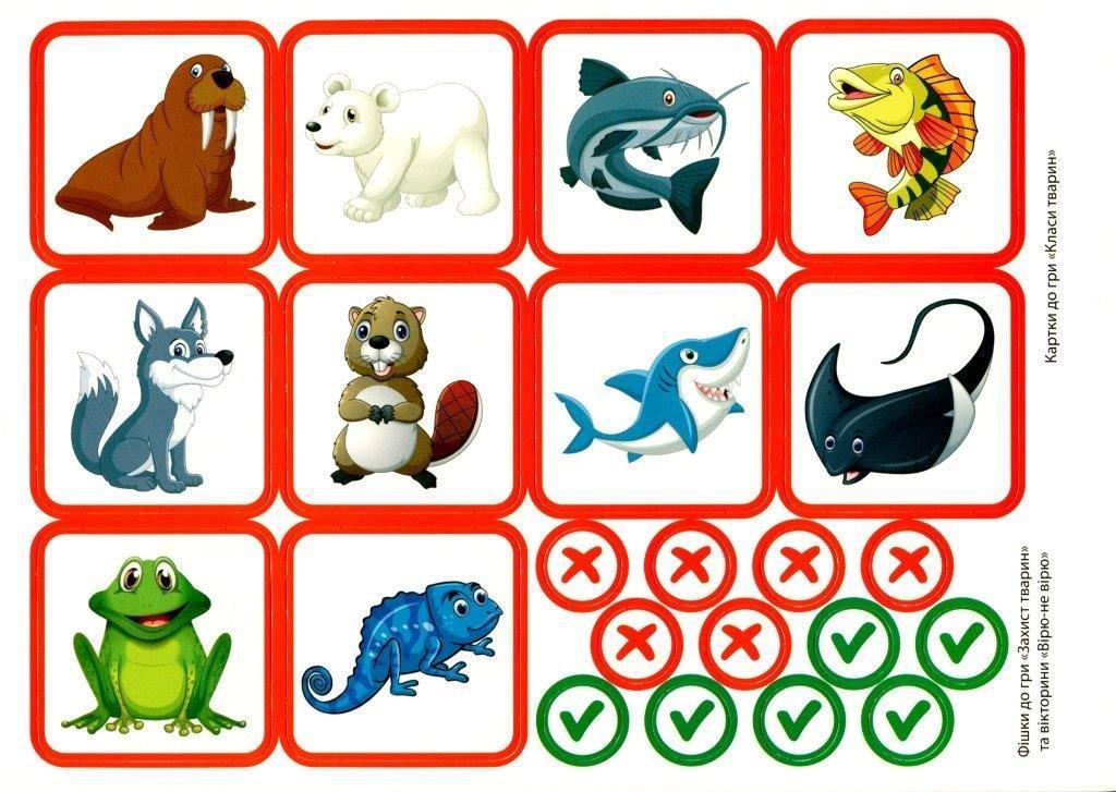 Комплекс дидактичних ігор Світ тварин