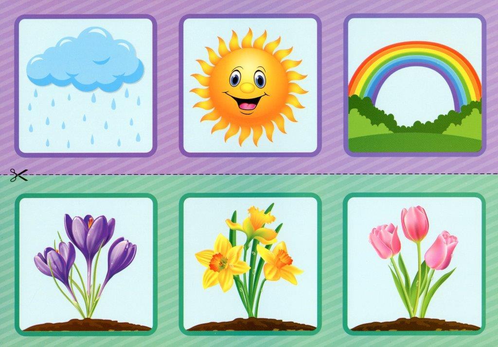 Картки Мнемодоріжки. Весна