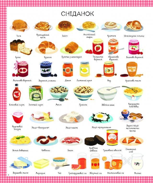 Книга 1000 назв їжі