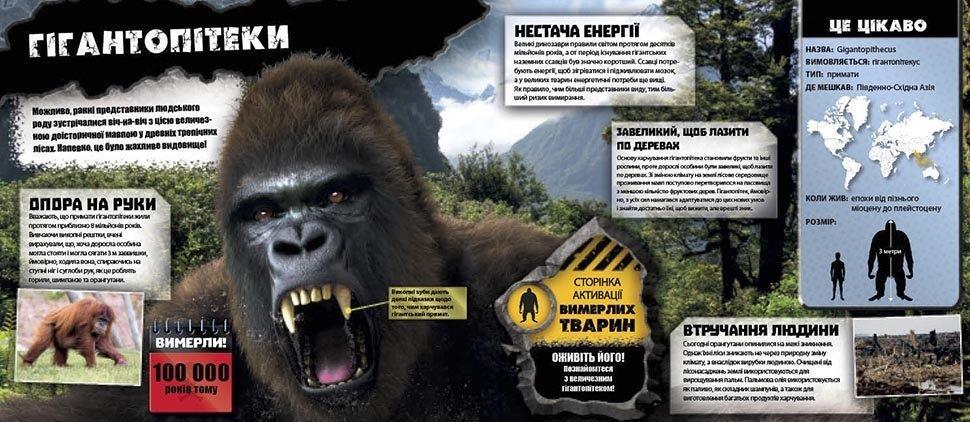 Доісторичні тварини Енциклопедія