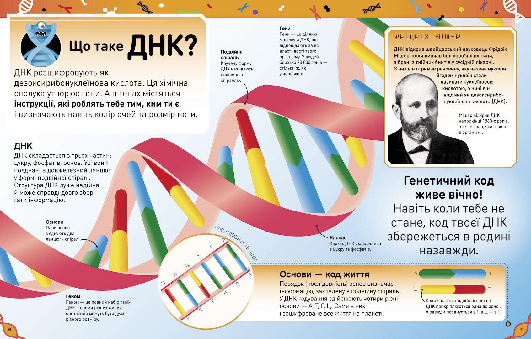 Книга Надзвичайні ДНК