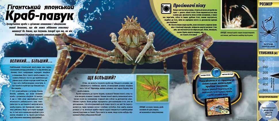 Монстри океану Енциклопедія з доповненою реальністю