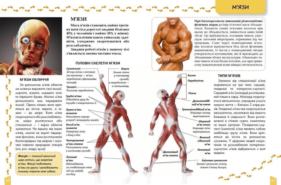 Про тіло людини книга