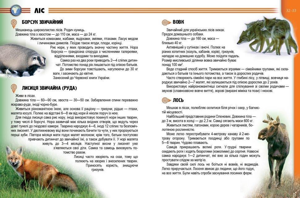 Енциклопедії Рослини і тварини україни