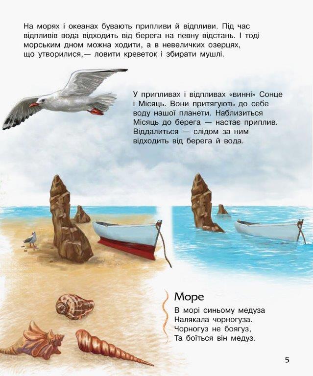 Енциклопедія дошкільника Океани та моря Ранок