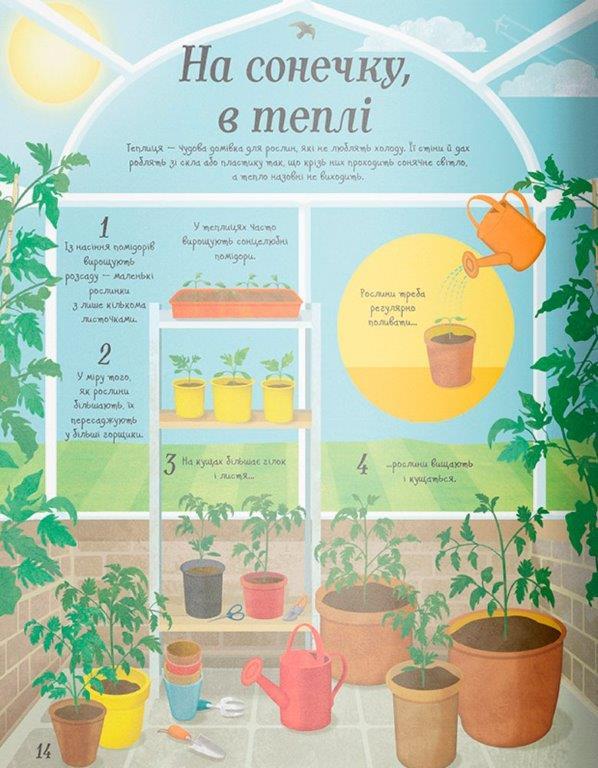 Енциклопедія Усе починається з насіння… як росте їжа