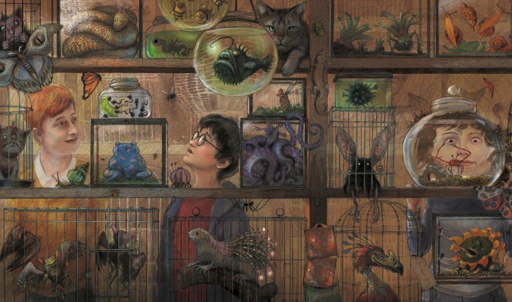 Книга Гаррі Поттер і в'язень Азкабану Подарункова
