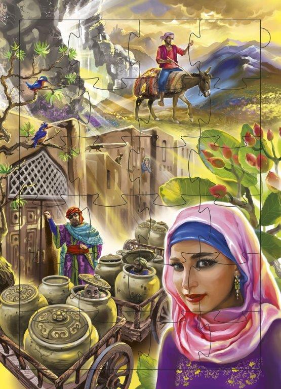 Казки далекого Сходу казки з пазлами