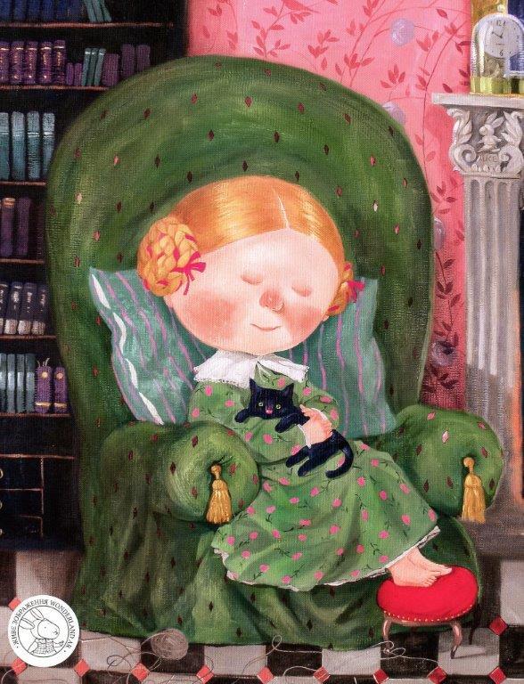 Книга Аліса в Задзеркаллі фото
