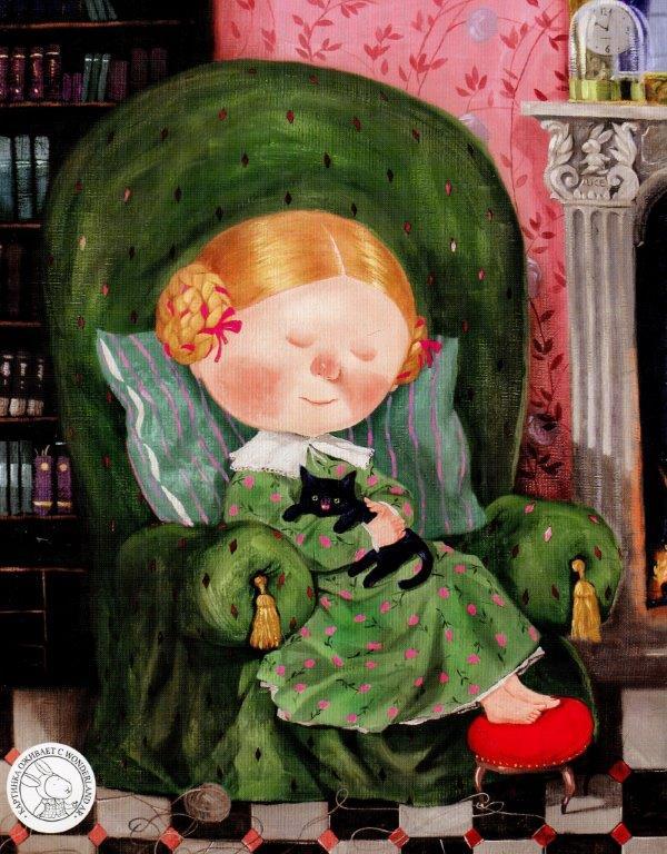 Книга Алиса в Зазеркалье фото