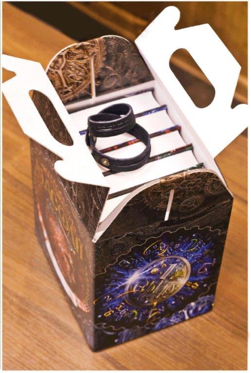 Часодії комплект із 6 книг браслет