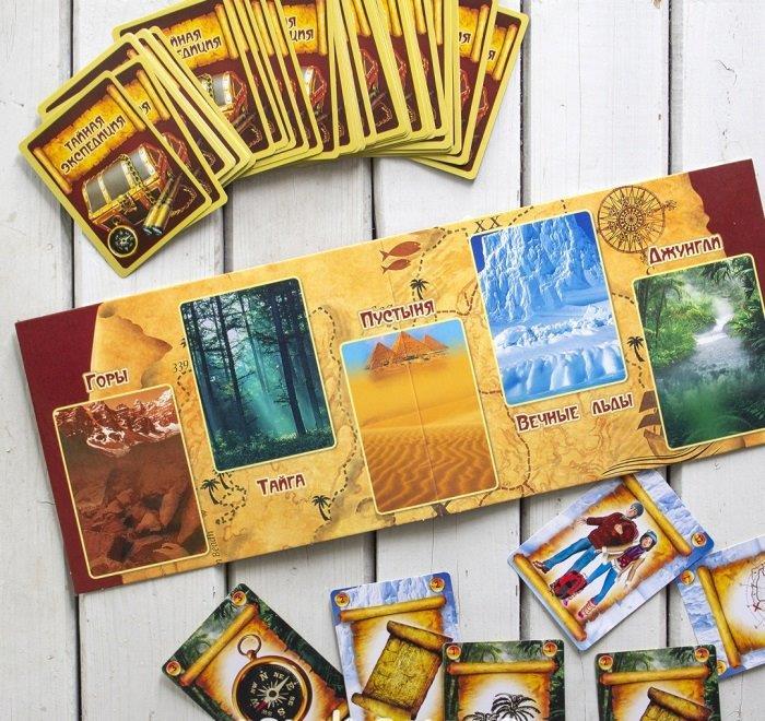Тайная экспедиция Настольная игра