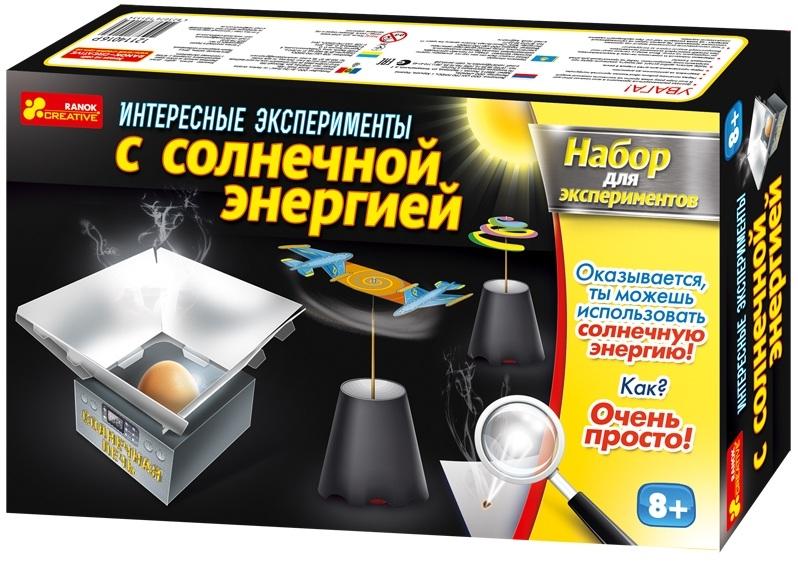 Набор Интересные эксперименты с солнечной энергией, 8+