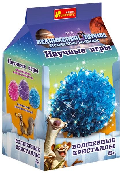 Набор для опытов Волшебные кристаллы