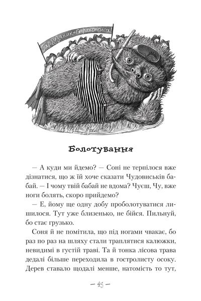 Книга Чудове Чудовисько в Країні Жаховиськ №2, Сашко Дерманський