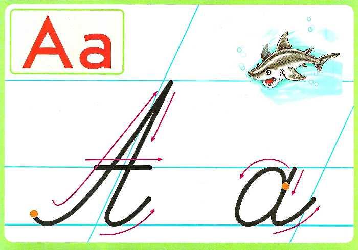 Зразки калiграфiчного написання лiтер i цифр